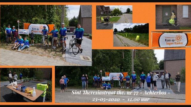 """MOLSHOOP fietste virtueel """"samen-solo"""" meer als 2000 km bij elkaar"""