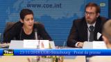 COE -- ICSP Strasbourg 2018 point de presse