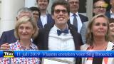Vlaams ereteken voor Stig Broeckx